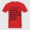 Red WOMEN: C U N T S T-Shirts - Men's T-Shirt