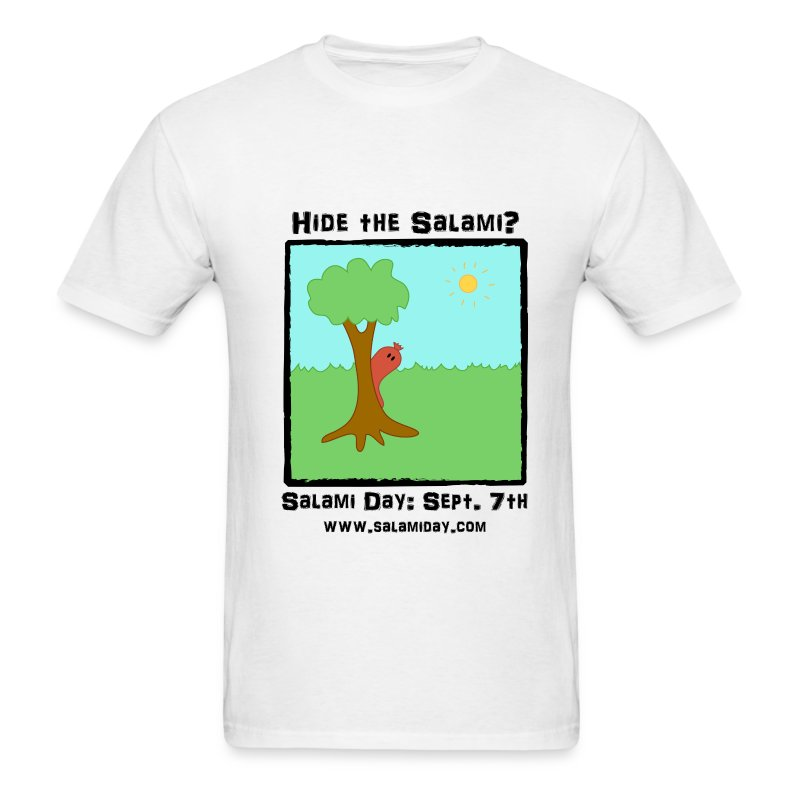Salami Day: Hide the Salami? - Men's T-Shirt