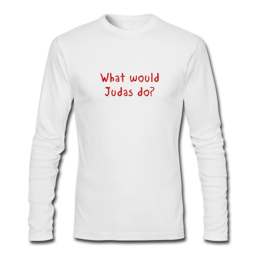 WWJD - Men's Long Sleeve T-Shirt by Next Level