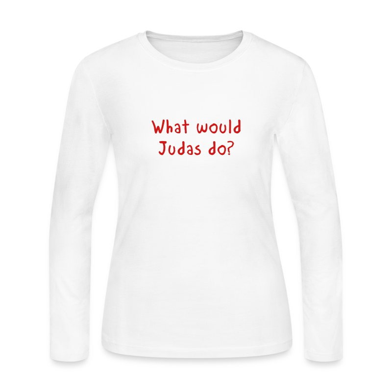 WWJD - Women's Long Sleeve Jersey T-Shirt