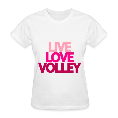 Women's Volleyball T-Shirt - Women's T-Shirt