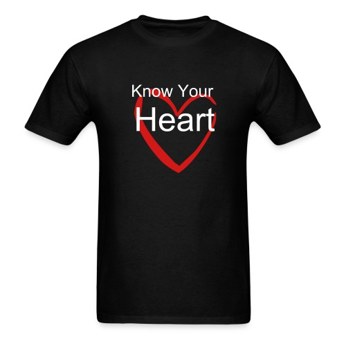 Know your heart - Men's T-Shirt