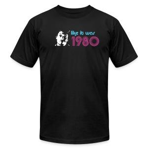 Like it was 1980 (Retro) - Men's Fine Jersey T-Shirt