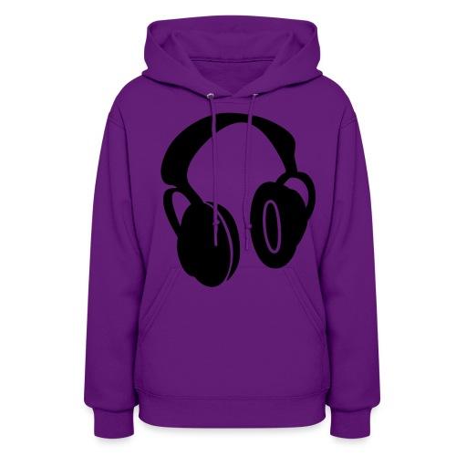 Headphone hoodie  - Women's Hoodie