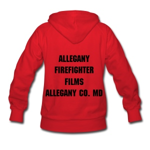 Allegany Firefighter Films Womens Hooded Sweatshirt - Women's Hoodie