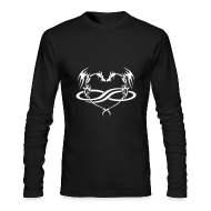 Long Sleeve Shirts ~ Men's Long Sleeve T-Shirt by American Apparel ~ PolyDragon Long-Sleeve T-Shirt