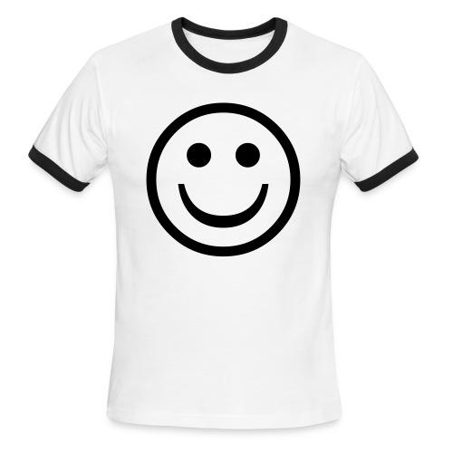 Be Happy! - Men's Ringer T-Shirt