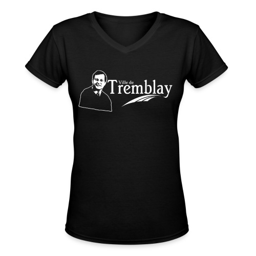 Chandail femme Ville de Tremblay - Women's V-Neck T-Shirt