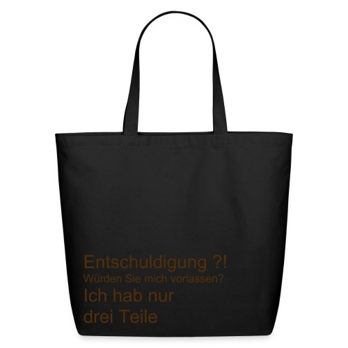Entschuldigung  - Eco-Friendly Cotton Tote