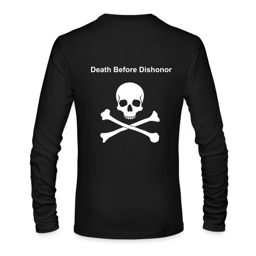 Death Before Dishonor - Men's Long Sleeve T-Shirt by Next Level
