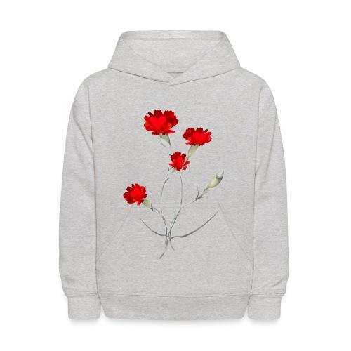 Carnations - Kids' Hoodie