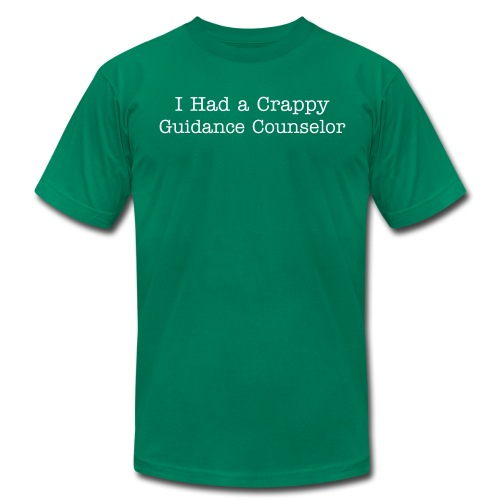 Crappy Guidance Counselor - Men's Fine Jersey T-Shirt