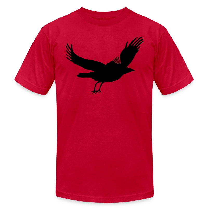 Crow - Men's T-Shirt by American Apparel