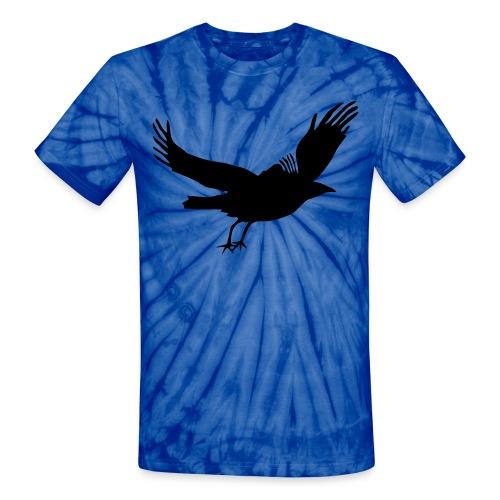 Crow - Unisex Tie Dye T-Shirt