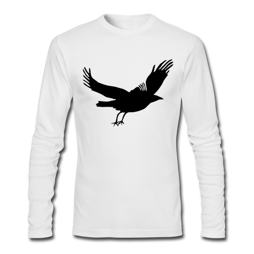 Crow - Men's Long Sleeve T-Shirt by Next Level