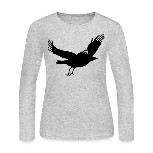 Crow - Women's Long Sleeve Jersey T-Shirt
