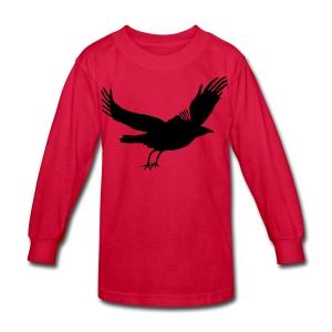 Crow - Kids' Long Sleeve T-Shirt