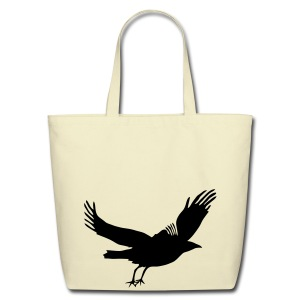 Crow - Eco-Friendly Cotton Tote