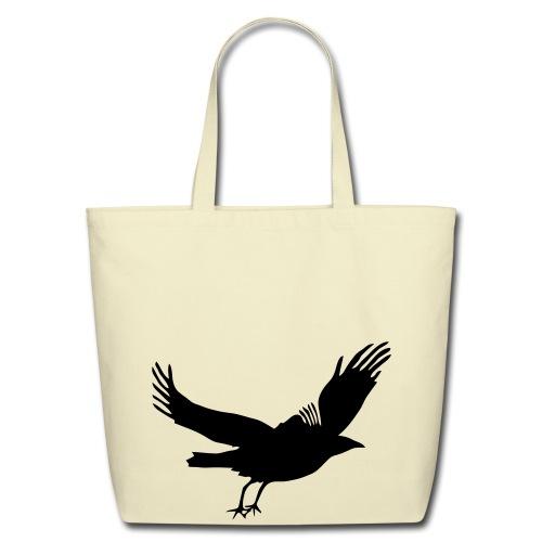 Crow - Eco-Friendly Cotton Tote