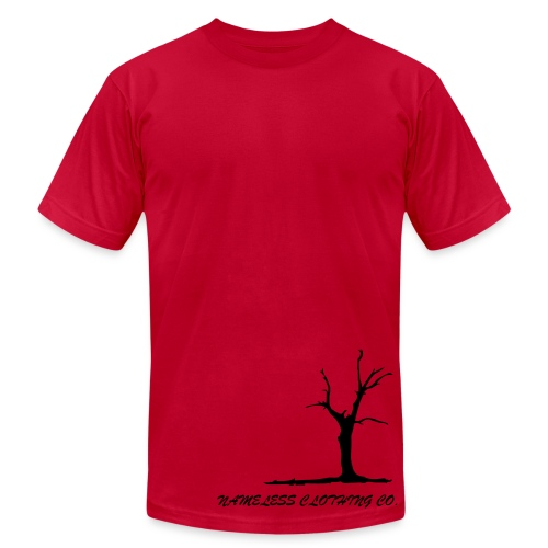 tree blue - Men's  Jersey T-Shirt