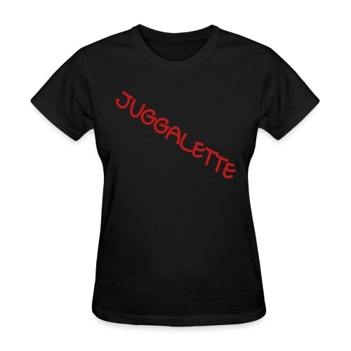 juggalette red sparkle tee - Women's T-Shirt
