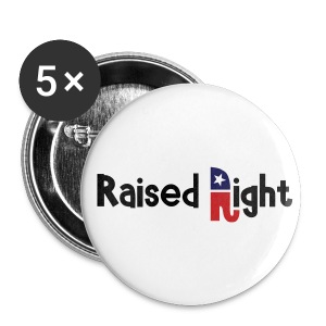 Raised Right - Small Buttons