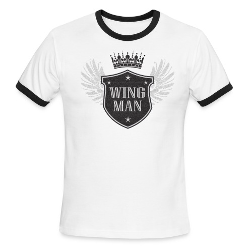 WING MAN - Men's Ringer T-Shirt