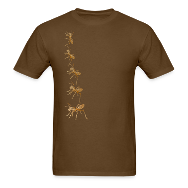 Brown ARMY of ANTS T-Shirts
