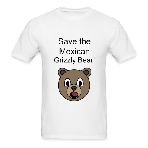 Mexican Grizzly - Men's T-Shirt