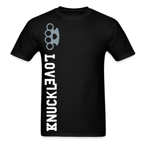 Knuckle Love Twisted T - Men's T-Shirt