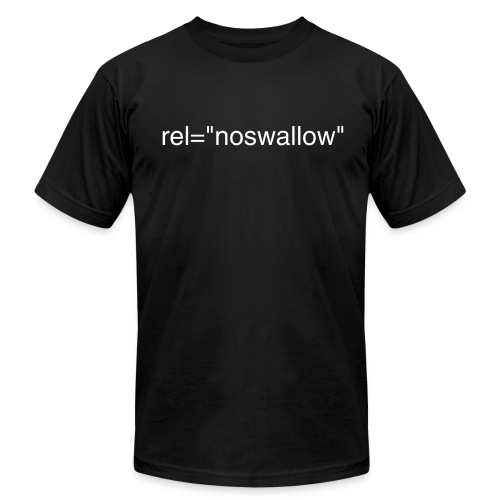 rel=noswallow - Men's Fine Jersey T-Shirt