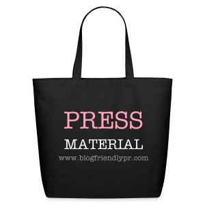 Press Material Eco-Friendly Tote - Eco-Friendly Cotton Tote