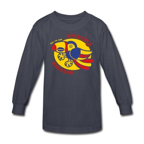Kids' Long Sleeve T-Shirt - Amazonian Toucan