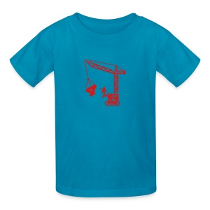 Big 4 [Red on Orange] - Kids' T-Shirt
