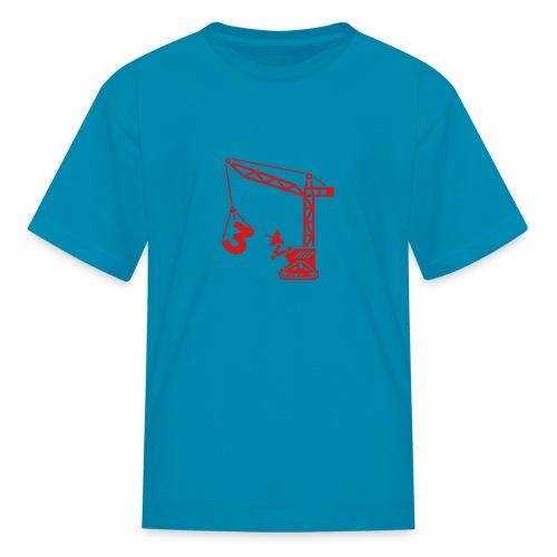 Big 3 [Red on Orange] - Kids' T-Shirt