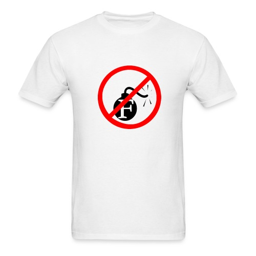 No F-Bomb T-Shirt - Men's T-Shirt