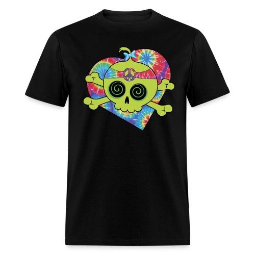 hippie pirate - Men's T-Shirt