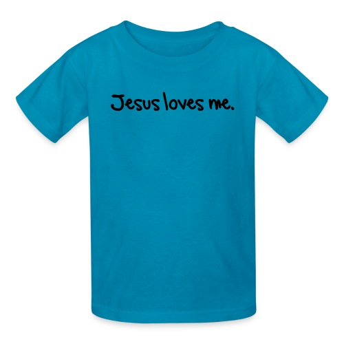 Jesus loves me. - Kids' T-Shirt