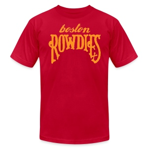 Boston Rowdies Men's American Apparel T-shirt - Men's Fine Jersey T-Shirt
