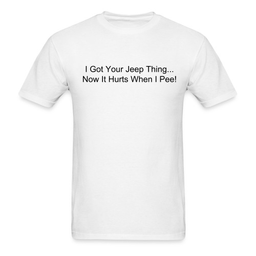 Jeep Thing - Mens Tee - Men's T-Shirt