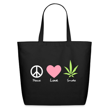 Weed Eco-Friendly Tote