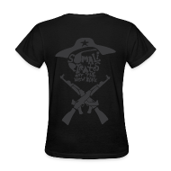 Women's T-Shirts ~ Women's T-Shirt ~ Somali Pirates (Girl's Black)