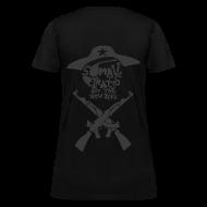 Women's T-Shirts ~ Women's T-Shirt ~ Somali Pirates (Girl's Black)