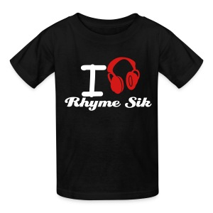 I Listen To Rhyme Sik - Kids' T-Shirt