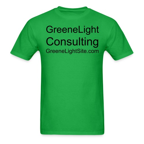 GreeneLight Consulting - Men's T-Shirt