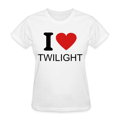 I love twilight women's standard t-shirt - Women's T-Shirt