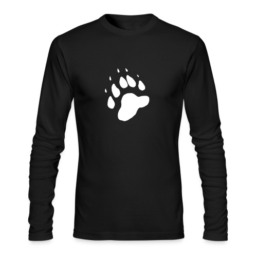 NovaScotiaHunting.com Long Sleeve - Bear Paw - Men's Long Sleeve T-Shirt by Next Level