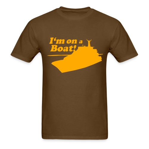 Cherokee Prom '09 BROWN - Men's T-Shirt