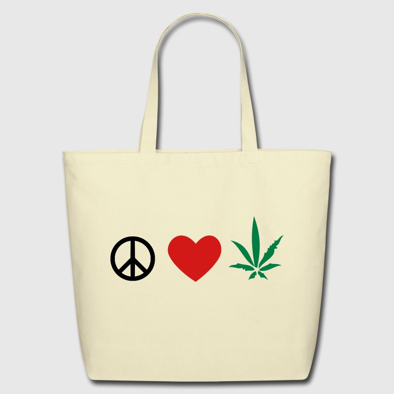 Weed Eco-Friendly Tote - Eco-Friendly Cotton Tote