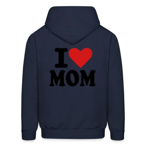 i heart mom hoodie - Men's Hoodie